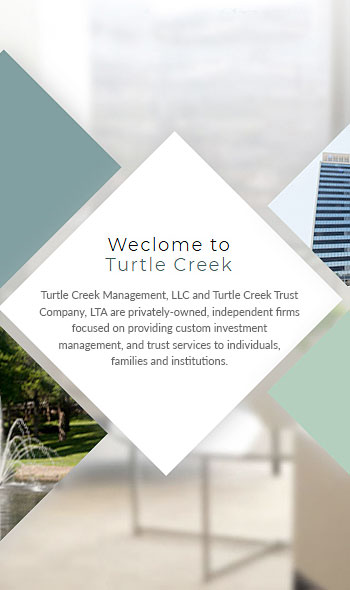 Welcome to Turtle Creek image collage custom investment management